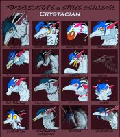16 Styles Challenge by Crystacian