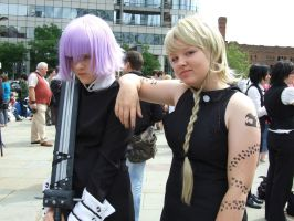 You're such a disappointment~Medusa and Crona by JubsJeevasX