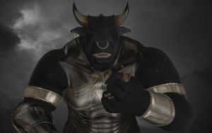 Tarkos the Minotaur by Spino2006