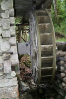view to mill wheel closer by ingeline-art