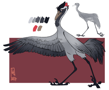 Crane For Jacky by LiLaiRa