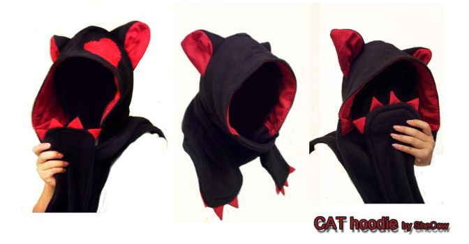 CAT_hoodie by SheCow