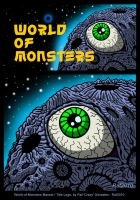 World-Of-Monsters Logo Design by Enshohma