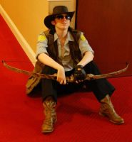 Team Fortress 2 Sniper Cosplay by CountessOfOle
