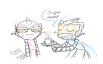 Here Have some tea by kancle