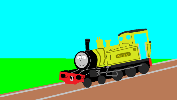 Andreas the Mid Sodor Engine by ewan4me