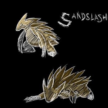 Sandslash by Godly-Effect