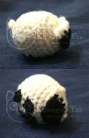 Pudgy Sheep Amigurumi by DamoyoExectak