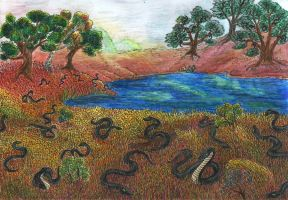 Dream 2 - Valley Of The Snakes by kxeron