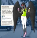 Mothgirl - Cryptid Files by Azadeth