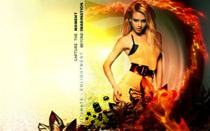 Jessica alba -reign of fire- by p0rkytso