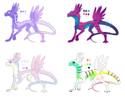 [CLOSED] Noodle Derg Adopts by MonsterMoxie