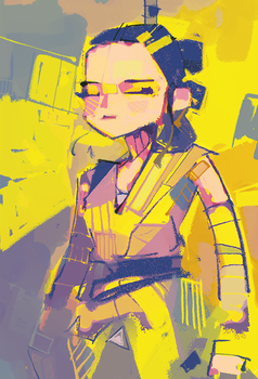 One more Rey in 2016 by michaelfirman
