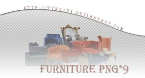 Furniture png pack #02 by yynx151