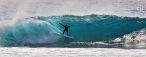 Surf the blue wave by jacketgiang