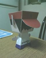 Frad Durst Papercraft back by Ephedrine86