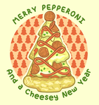 Vector - Merry Pepperoni by firstfear