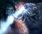 Pit Lord Aesmodeus vs King Bahamut by Ghostwalker2061