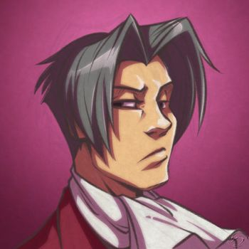 Mildly Edgeworth by zillabean