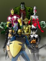 --Seven Soldiers of Victory-- by RamonVillalobos