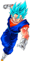 Vegetto Super Saiyan Blue 2 by alexiscabo1