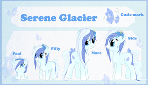 Reference sheet: Serene Glacier by StarDust-Adoptables