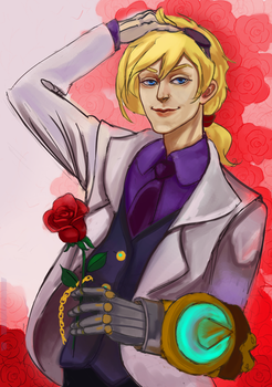 Roses are red~ by xLacie