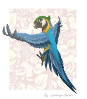 Parrot by Stasya-Sher
