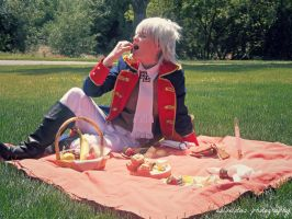 APH Prussia: Summer's Feast by Leviathanlover