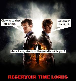 Doctor Who - Reservoir Time Lords by DoctorWhoOne