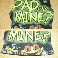 Your Pad or Mine Checkbook Cover by pierce14plus