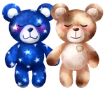 ILY Build-A-Bears by Hannah66665