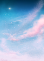 Speedpainting 16 - Calm Sky by Lucsy3012