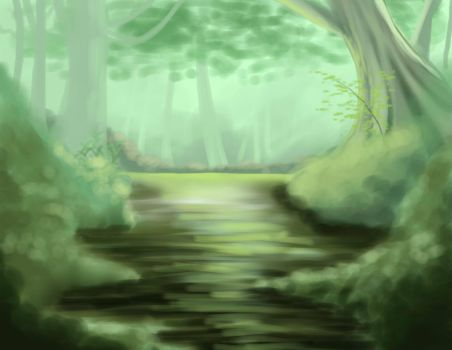 Enchanted Swamp by NeenjaPirate