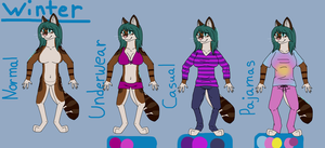 Anthro Fluffy Winter Clothes by AutumnMiracles