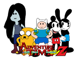 Adventure Time Z poster 4 by ElMarcosLuckydel96