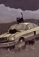 Car Illustration by GollyAbsolutely