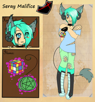 Seray Malifice by psychofoxpickle