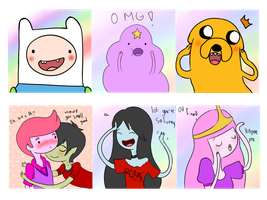 Doodles Adventure Time by SakuraYagami