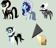 MLP Adopt: Guess the Character -CLOSED- by ChopstickGirl241