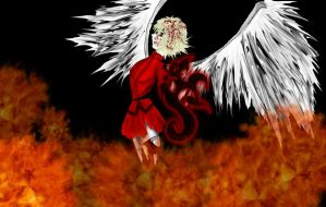 Angel in Hell by Druggybunny