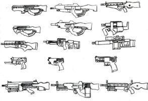 Guns by ModalMechanica