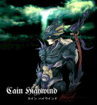 Dissidia - Cain Highwind by aznnick204