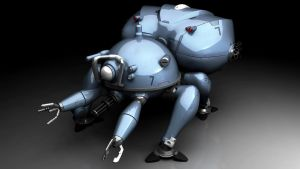 Ghost in the Shell: Fuchikoma by CorruptRecluse