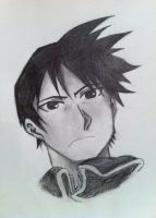 Roy Mustang (quick sketch) by CarnageWolff