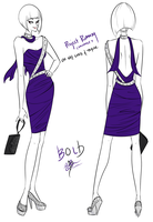 Project Runway Challenge 7 - Oh My Lord and Taylor by Miss-Bow