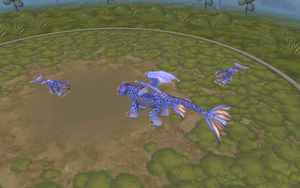 night fury that i make in spore (new version) by moonofheaven1