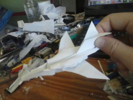 Buccaneer paper jet by Rooivalk1