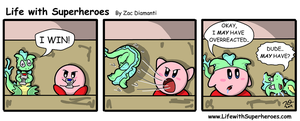 Life with Superheroes #9 by ZacAvalanche