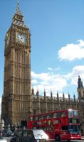 Big Ben and the Red Bus by Lost-in-Hogwarts